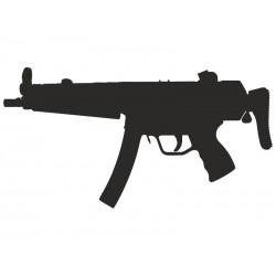 """Пистолет-пулемет """"Хеклер и Кох"""" MP-5"""