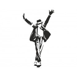 "Наклейка ""Майкл Джексон"""