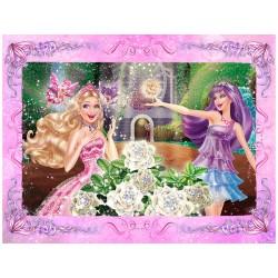 "Фотообои ""Барби: Принцесса и поп-звезда"""