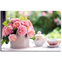 "Фотокартина ""Чайная роза"""