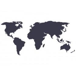 "Наклейка ""Карта Мира"""