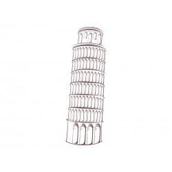 """Наклейка """"Пизанская башня"""""""