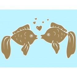 """Наклейка """"Золотые рыбки"""""""