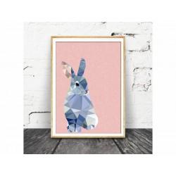 """Постер в раме """"Rabbit"""""""