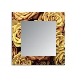 """Зеркало """"Желтая роза"""""""