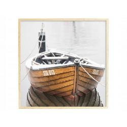 """Постер в раме """"Лодка"""""""