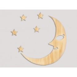 """Настінний декор """"Місяць"""""""