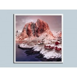 """Постер в раме """"Lofoten Islands"""""""