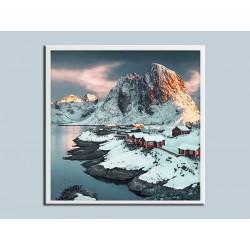 """Постер в раме """"Norvegia"""""""