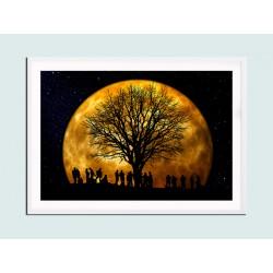 """Постер в раме """"Moonlight"""""""