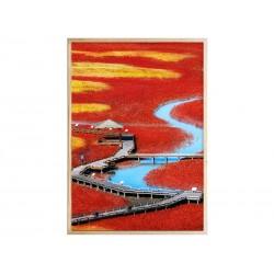 """Постер в раме """"Salt pond"""""""