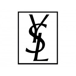 "Постер в рамі ""Yves Saint Laurent"""