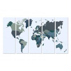 """Модульна фотокартина """"Карта"""""""