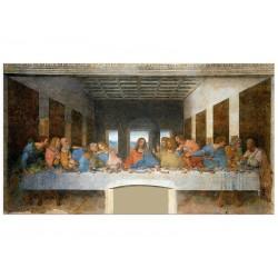 """Фотокартина """"Тайна вечеря Стінопис, Леонардо да Вінчі"""""""