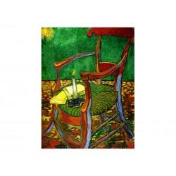 """Фотокартина """"Крісло Гогена. Вінсент ван Гог"""""""