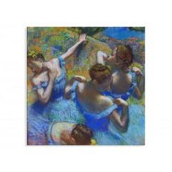 """Фотокартина """"Блакитні танцівниці. Едґар Деґа"""""""