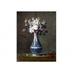 """Репродукція """"Квіти в синьо-білій вазі. Жан-Батист Сімеон Шарден"""""""