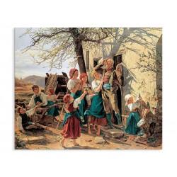 """Репродукція """"Шлях в нове життя. 1848. Фердинанд Георг Вальдмюллер"""""""