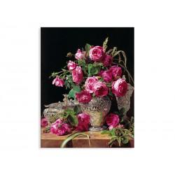 """Репродукція """"Троянди. 1843. Фердинанд Георг Вальдмюллер"""""""