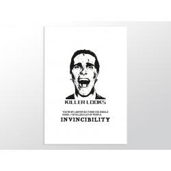 "Постер ""Американский психопат"""