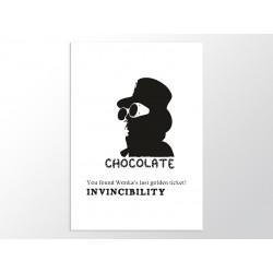 """Постер """"Чарлі та шоколадна фабрика"""""""
