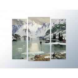 """Модульна фотокартина """"Озеро гірських духів, 1910. Гуркин Григорій"""""""