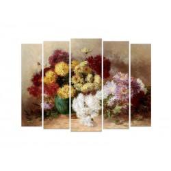 "Модульная фотокартина ""Букет цветов. Ханс Зацка"""