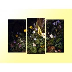 """Модульна фотокартина """"Квіти. Франц Ксавер Петтер"""""""