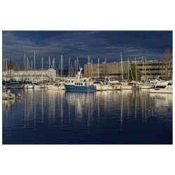 """Фотокартина """"Лодки в Восс Фосс, Музей стекла, Вашингтон"""""""