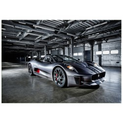 """Фотокартина """"Jaguar C-X75"""""""