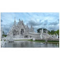 """Фотокартина """"Ват Ронг Кхун. Храм в Таїланді"""""""