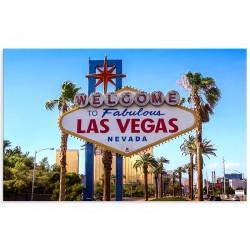 """Фотокартина """"Добро пожаловать в сказочный Лас-Вегас"""""""