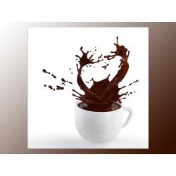 "Фотокартина ""Кава з молоком"""