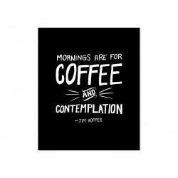 """Фотокартина """"Ранок для кави та споглядання"""""""