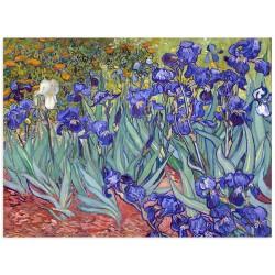 """Фреска """"Іриси, 1889. Вінсент Ван Гог"""""""
