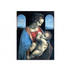 """Фреска """"Мадонна Літта. Леонардо да Вінчі"""""""