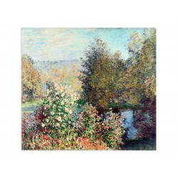 """Фреска """"Куточок саду в Монжероні. Клод Моне"""""""