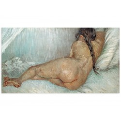 """Фреска """"Оголена, що лежить, 1887 р Вінсент Ван Гог"""""""