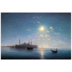 """Фреска """"Венеція в місячному світлі. Вачаган Іспірян"""""""