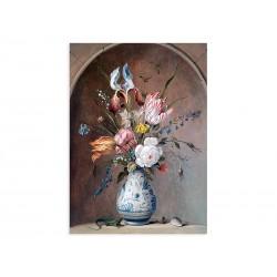 """Фреска """"Квітковий натюрморт. Аст Бальтазар ван дер"""""""