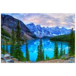 """Фотокартина """"Озеро Морейн, Канада"""""""