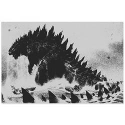 "Фотокартина ""Godzilla"""