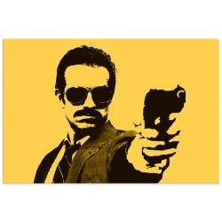 """Фотокартина """"Man holding gun"""""""