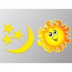 "Наклейка ""Сонце та Місяць"" комплект"