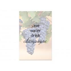 """Фотокартина """"Champagne"""""""