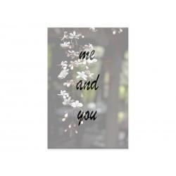 """Фотокартина """"me and you"""""""