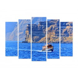 "Модульна картина ""Santorini"""