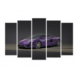 """Модульна картина """"McLaren 570S"""""""