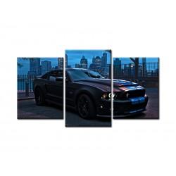 "Модульна картина ""Mustang Shelby GT500"""