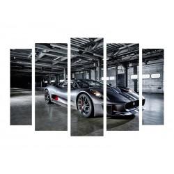 "Модульна картина ""Jaguar C-X75"""